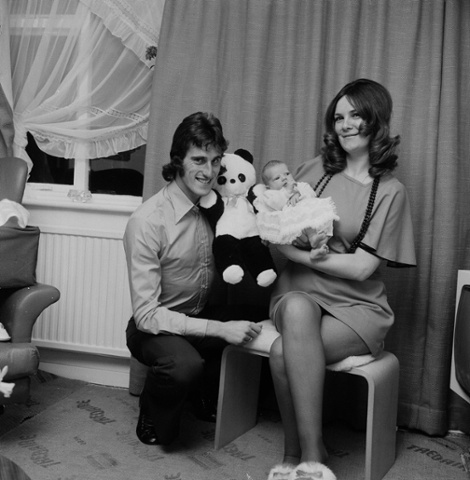 Memory Lane: 1970s footballers at home – in pictures ...