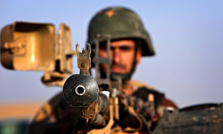 Peshmerga fighter