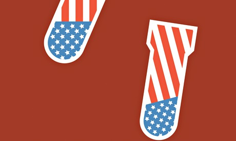 us flags as bombs cartoon