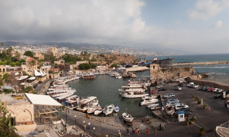 'Byblos escaped more than a tornado ... we escaped a civil war,' ... the port of Byblos, Lebanon. Photograph: James Haines-Young