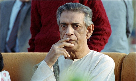 Indian movie director Satyajit Ray (1921-92): Richard Attenborough was principal patron of the found