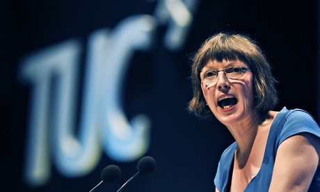 'We need to rebalance the economy': Frances O'Grady.