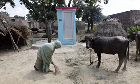 New low-cost toilet for Indian villages