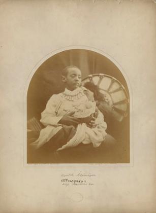 Prince Alamayou. Isle of Wight,1868.