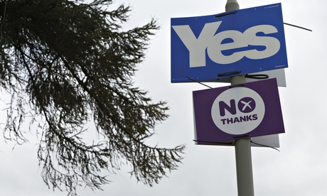 Yes and no signs in Newtonmore.