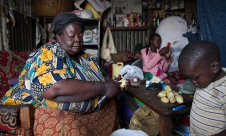Mama Safi: 'I was born big'