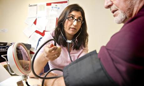 GP Dr Zara Aziz in Bristol.
