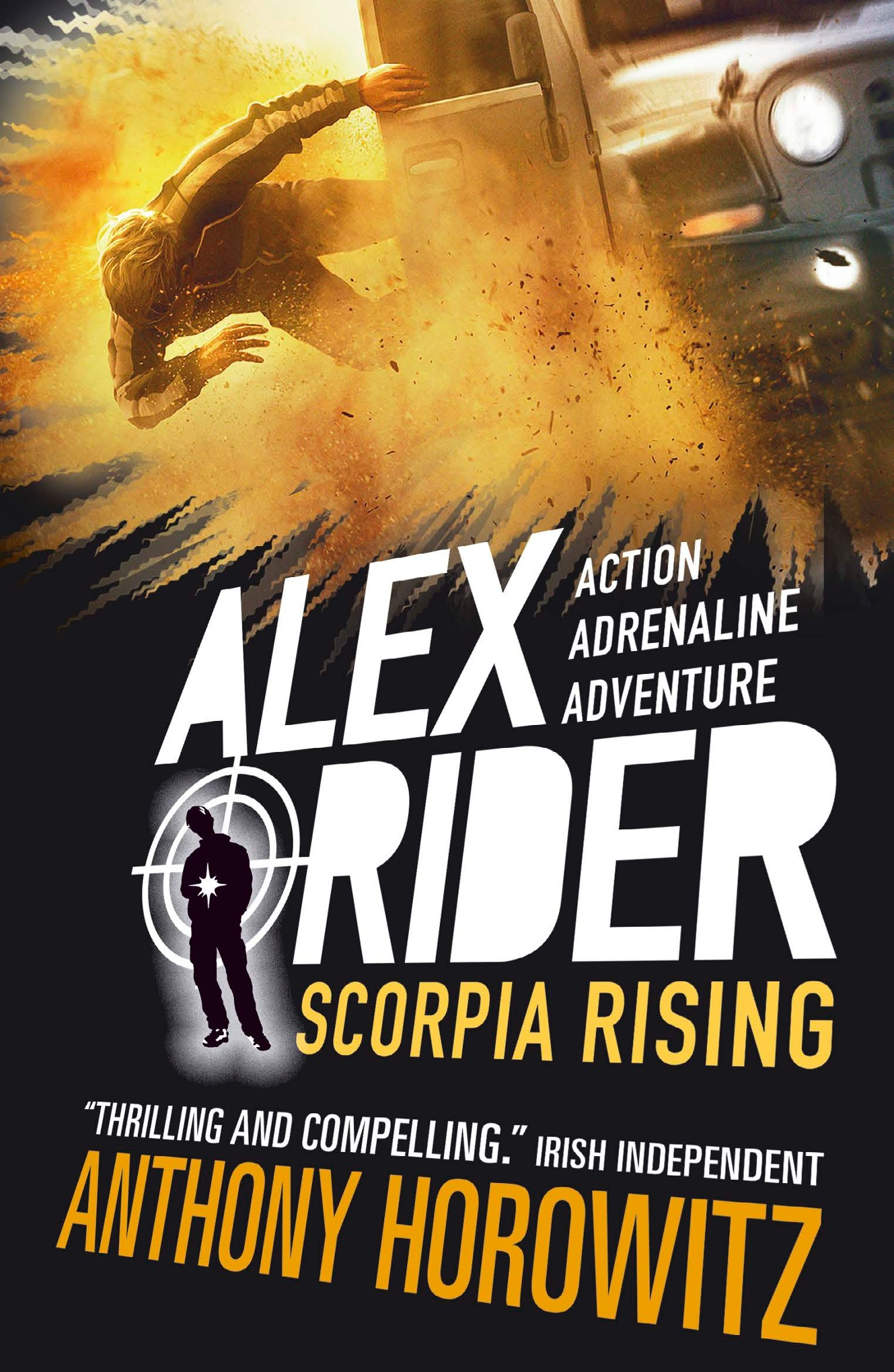 Exclusive new Alex Rider cover reveal  Childrens books  The Guardian