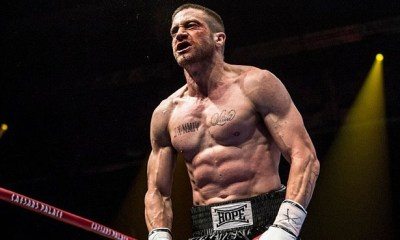 Jake Gyllenhaal underwent a physical transformation to ply a boxer in Southpaw