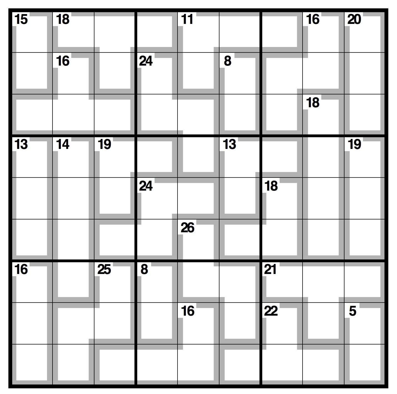 killer sudoku Gallery