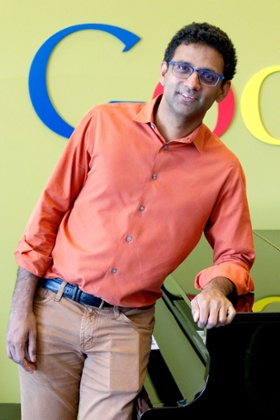 Ben Gomes, Google's overseer of UI – user interface – pictured in Mountain View, California.