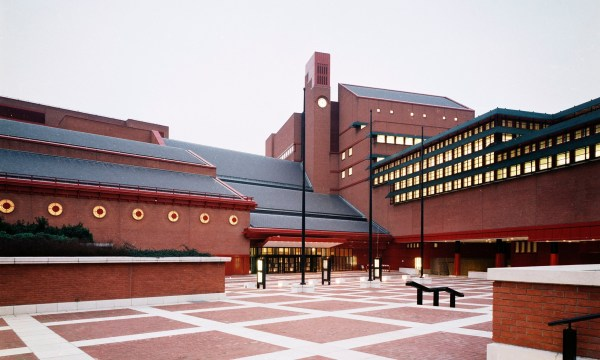 British Library Awarded Grade -listed Building Status