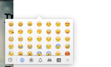 emoji pop-up