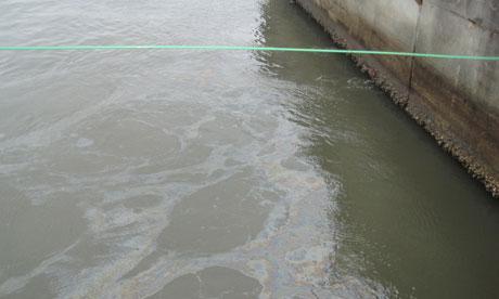 Tepco oil spill