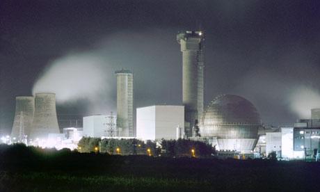 The Windscale Piles produce plutonium at Sellafield