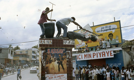 Haiti uprising 1986 Jean-Claude 'Baby Doc' Duvalier