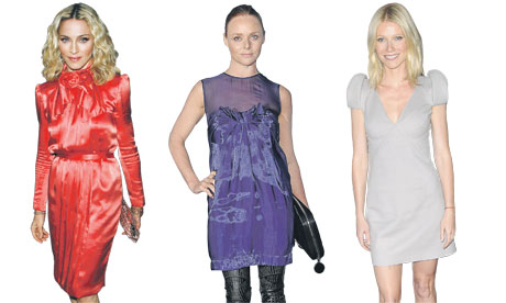 Madonna, Stella McCartney and Gwyneth Paltrow