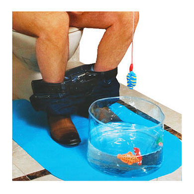 Worst Christmas gifts: Potty fisher