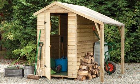 Win a Forest 6ft by 4ft shed with lean-to