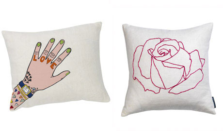 Fine Cell Work cushions