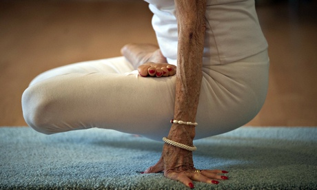 Yoga instructor Tao Porchon-Lynch, 93