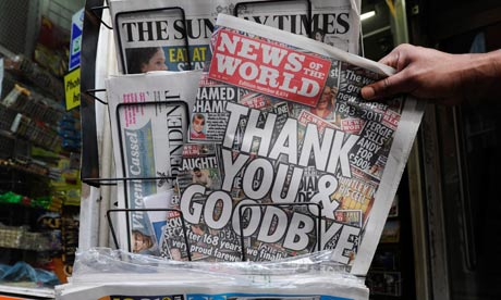 News of the World last ever edition