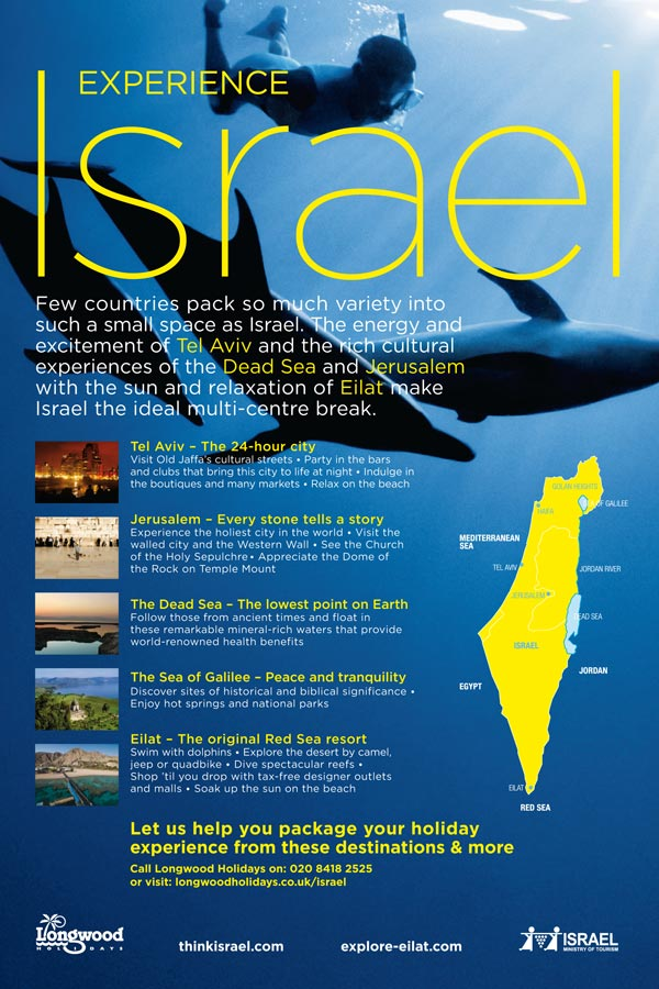 Israeli Tourism Posters Banned By Watchdog Over