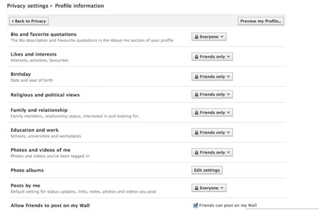How do the new Facebook privacy settings work