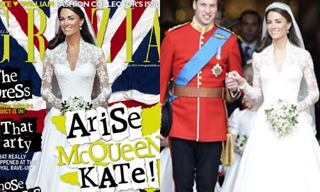 Kate Middleton's image was manipulated to remove Prince William