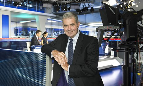 Andy Cairns, head of Sky Sports News