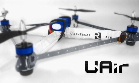 Universal Air's R10 Quadrotor drone