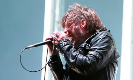 Thom Yorke, Radiohead, Reading festival