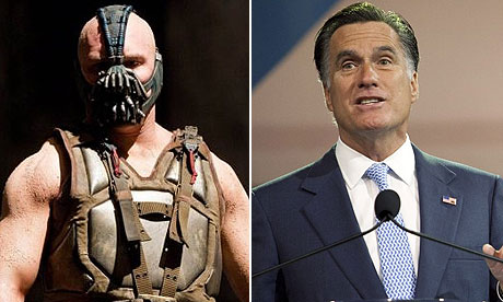 Bane and Mitt Romney