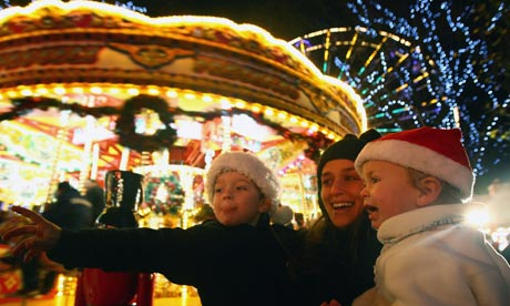 Edinburgh Launches Its Christmas Light Night