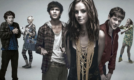 Skins TV show, written by Jack Thorne