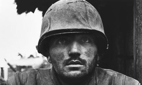 (c) Don McCullin - Shellshocked Soldier in Vietnam