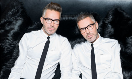 Dsquared2 interview Double vision  Fashion  The Guardian
