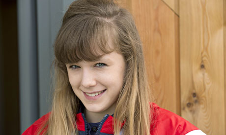 Rebecca Tunney, Britain's youngest 2012 Olympian