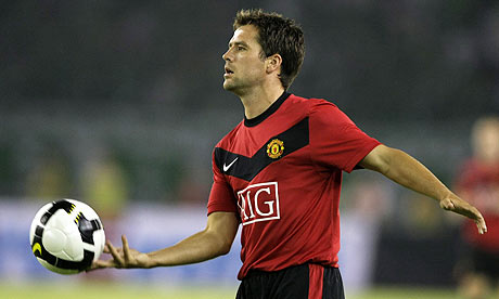 Michael Owen scored four times during Manchester United's tour of the far east