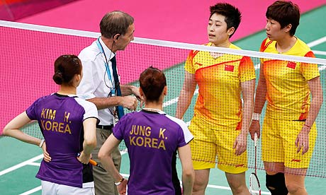 Badminton china South Korea