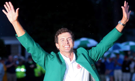 Adam Scott with the Green Jacket