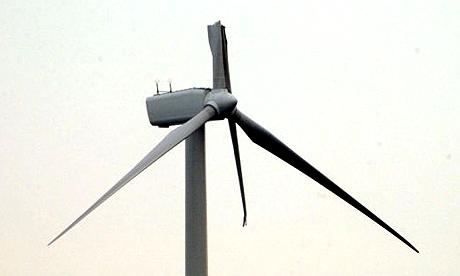 Broken Wind Turbine Strategy