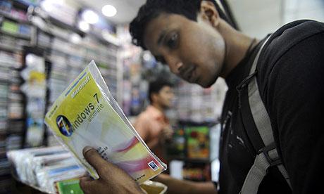 pirated windows 7 in Bangladeshi market