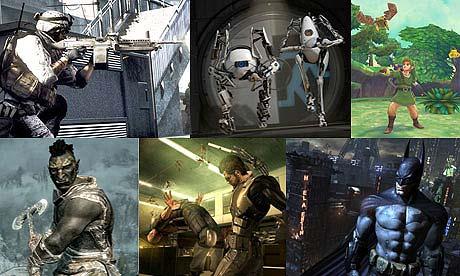 Bafta game awards montage