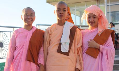 Burma nuns
