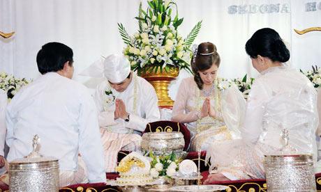 Burma wedding