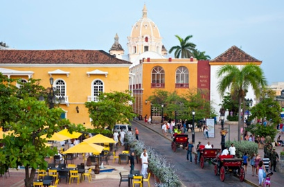 Cartagena ramparts