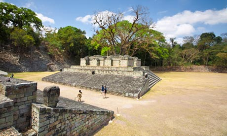 Jennifer Cox of The Guardian:Mayan ruins at Copán