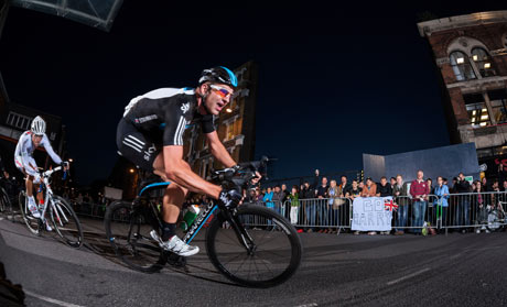 London Nocturne 2012 winner Ian Stannard (Team Sky) on the Smithfield Market circuit.