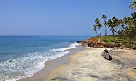 Odayam Beach near Varkala, Kerala